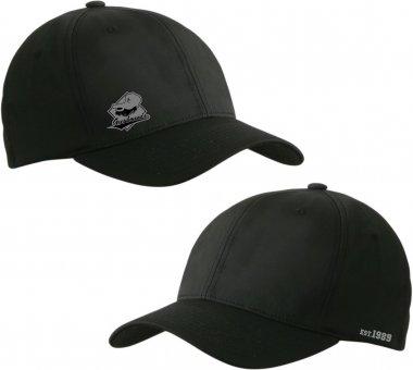 Greyhounds Flexfit Basecap - schwarz mit Emblem und Schrift