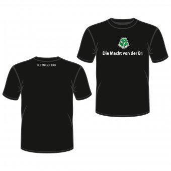 FVV T-Shirt Die Macht an der B1 - schwarz Gr. 98 - XXL