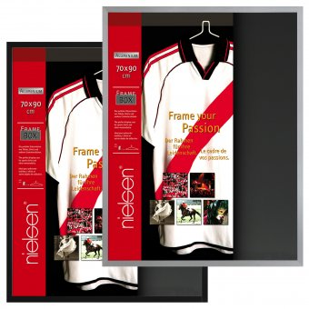 Nielsen Frame-Box Shirt Trikotrahmen 3D Objektrahmen Rahmen Framebox 70 x 90cm