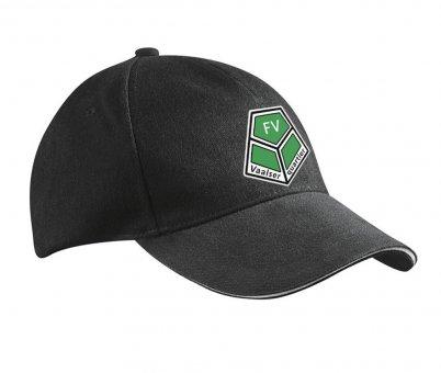 FVV Kappe Basecap - schwarz mit Emblem