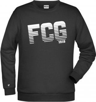 "Germania Freund Sweater ""FCG"" schwarz 116-5XL"