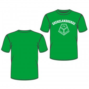 FVV T-Shirt GRENZLANDHORDE - grün Gr. 98 - XXL