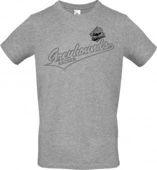 "Greyhounds T-Shirt ""Greyhounds"" heather grey Gr. 116 - 5XL"