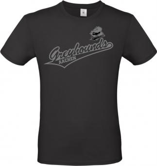 """Greyhounds T-Shirt """"Greyhounds"""" schwarz Gr. 116 - 5XL"""