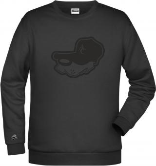 """Greyhounds HERREN Sweater """"Dezent"""" schwarz 116-5XL"""