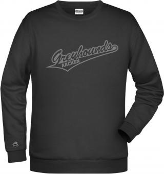 "Greyhounds HERREN Sweater ""Greyhounds"" schwarz 116-5XL"