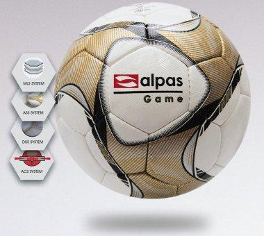 Alpas Spielball Fußball Matchball GAME Größe 4 & 5