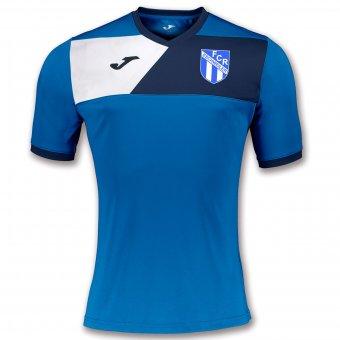 FCR JOMA Trainingsshirt Aufwärmshirt Trikot Crew II royal blau 6XS-2XL