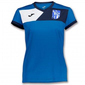 FCR JOMA Damen Trainingsshirt Aufwärmshirt Trikot Crew II royal blau 6XS-2XL