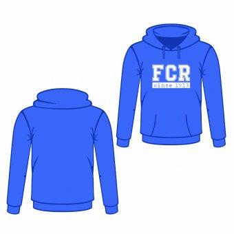FCR Hoodie / Kapuzenpullover FCR blau Gr. XS - 3XL
