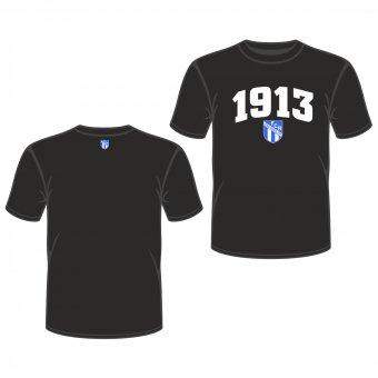 FCR T-Shirt 1913 schwarz Gr. 98 - XXL