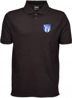 FCR Pique Polo Shirt Poloshirt - schwarz Gr. S - 5XL