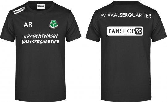 """FVV TEAM T-Shirt Shirt """"Warm Up"""" schwarz Gr. 116 - 5XL"""