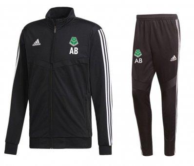 FVV TEAM Adidas Polyester Trainingsanzug mit engem Bein Tiro 19 116-3XL