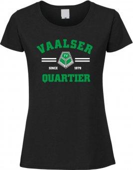 FVV Girlie T-Shirt Damen SINCE schwarz Gr. XS - XXL