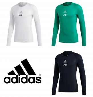 FVV TEAM Adidas Alphaskin Unterzieh-Shirt inkl. Initialen 116-3XL