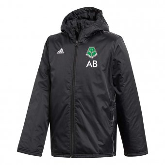 FVV TEAM Adidas Coachjacke Stadion/ Winterjacke CORE 18 inkl. Druck 116-3XL L