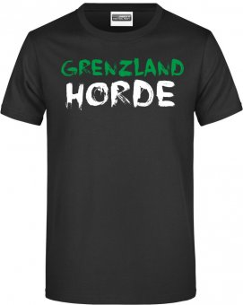 "FVV TShirt Shirt ""Grenzlandhorde""  schwarz Gr. 116 - 5XL"