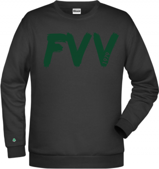 "FVV HERREN Sweater ""FVV Paint"" schwarz 116-5XL"