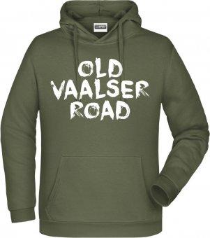 """FVV Hoodie Kapuzenpullover """"Old Vaalser Road""""  olive Gr. 116 - 5XL"""