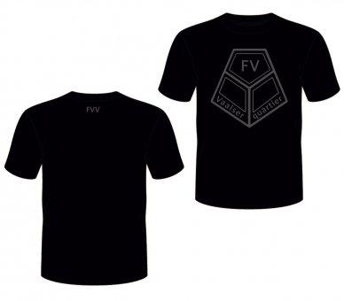 FVV T-Shirt BIG SIGN - schwarz grau/schwarz