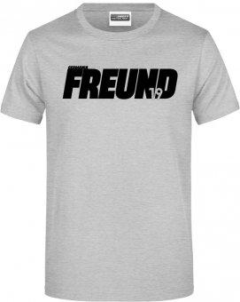 "Germania Freund TShirt Shirt ""Freund"" heather grey Gr. 116 - 5XL"