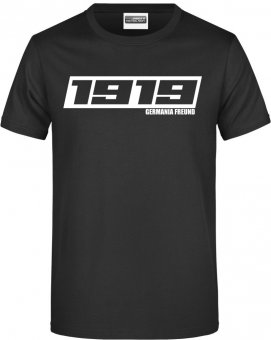 "Germania Freund TShirt Shirt ""1919"" schwarz Gr. 116 - 5XL"