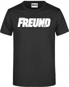 """Germania Freund TShirt Shirt """"Freund"""" schwarz Gr. 116 - 5XL"""
