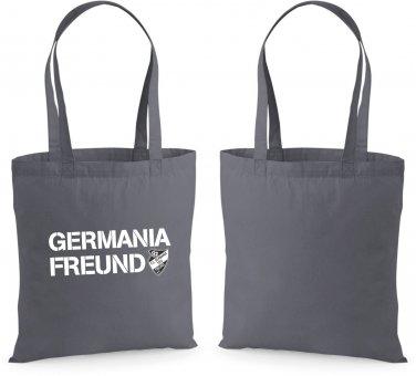 Germania Freund Baumwolltasche grau
