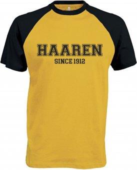 DJK FV Haaren Baseballshirt - gelb/schwarz Gr. S - 3XL M