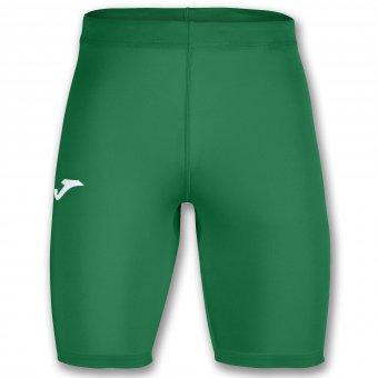 JOMA Brama Academy Thermal Short Tight Leggings Radlerhose Kompression grün