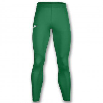 JOMA Brama Academy Thermal Long Tight Leggings Kompression grün