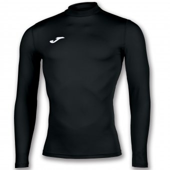 JOMA Brama Academy Thermal Shirt Undershirt Langarmshirt Kompression schwarz