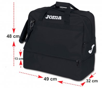 JOMA Trainingstasche Sporttasche Large mit Schuhfach schwarz