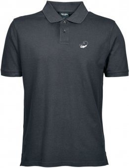 Greyhounds Pique Polo Shirt Poloshirt - anthrazit Gr. S - 5XL