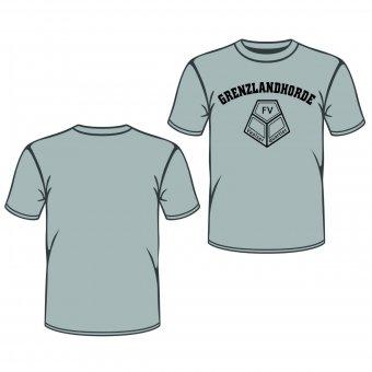 FVV T-Shirt GRENZLANDHORDE - grau Gr. 98 - XXL