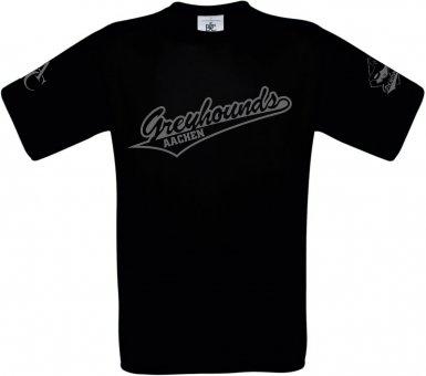 Greyhounds T-Shirt - schwarz Gr. 98 - 3XL