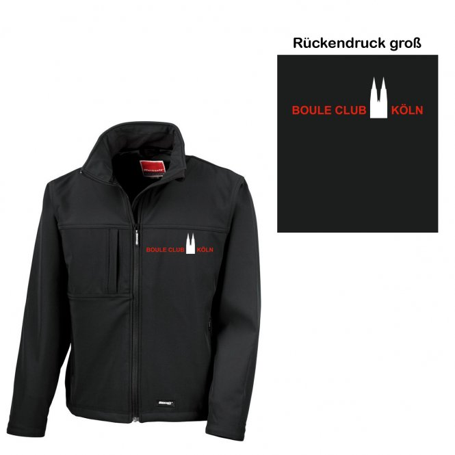 bck softshell jacke j n herren schwarz gr s 4xl online kaufen. Black Bedroom Furniture Sets. Home Design Ideas