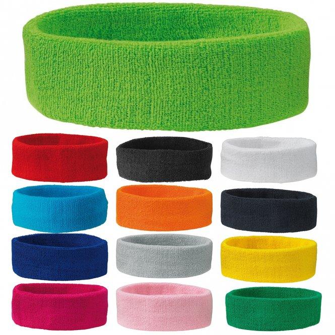 7d321e05b89fd Sport Stirnband Schweißband Tennis Stirnband 16 Farben